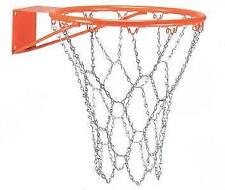 Coppia reti basket CORSPORT metallo rete pallacanestro maglia metal NO CANESTRO