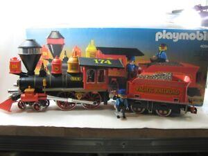 Playmobil 4054 Steaming Mary Lokomotive mit Tender und Zubehör -OVP