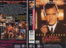 HUGH HEFNER: ONCE UPON A TIME -VHS- PAL- NEW- Never played!- Original Oz release