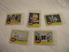 Star Wars Trading Cards 1977 20th Century-Fox Film Corp Set of 5 Great Condition