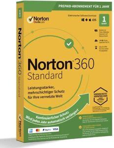 Norton 360 2021 Standard 1 Gerät 1 Jahr ABO DIGITAL per EMAIL