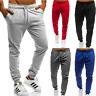 Mens Gym Slim Fit Tracksuit Bottoms Skinny Jogging Joggers Sweat Pants Trousers
