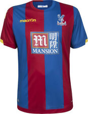 CRYSTAL PALACE OFFICIAL MACRON 2015-16 HOME SHIRT IN ADULT EU SIZES S-5XL *BNWT*
