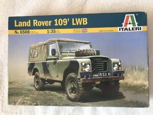Italeri 1/35 Land Rover 109 LWB plastic model kit 6508