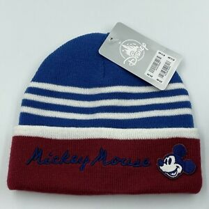 MICKEY MOUSE - BABY BEANIE HAT - 12-18 MONTHS - DISNEY STORE - BNWT