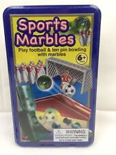 Sports Marbles Play Football & Ten Pin Bowling BRAND NEW