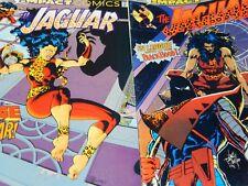 Vintage Impact comics Jaguar Lot of  two #4 1991, #13 1992