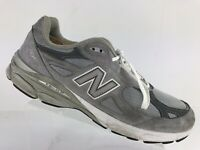 New Balance 990 Heritage Collection Grey USA Running Sneaker Shoe Men's 15 D