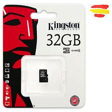 TARJETA MEMORIA 32GB KINGSTON MICROSD 32 GB MICRO SD ORIGINAL MOVIL S/A
