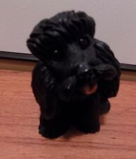 Poodle Black (Sport Cut) Figurine Pet lovers gift