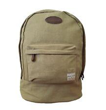 Mens Brakeburn Backpack Tan Strong Canvas Rucksack Outdoors