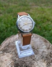 Vintage Men's Bulova Automatic Watch, 10 BRC, L1, Leather Bands, Keeping Time!