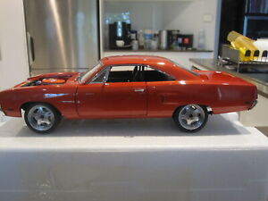 1/18 GMP 18807 1970 PLYMOUTH ROAD RUNNER FAST & FURIOUS ORANGE *NEW*