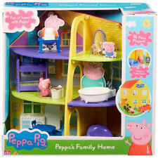 Peppa Pig Peppa's Family Home - 14 Piece Playset - Fun at home with Peppa!