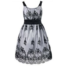 Plus Size High Waist Ball Gown Dress Sizes 16 18 20 22 24