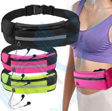 Unisex Running Jogging Waist Belt Wallet Bum Bag Cash Pouch Keys Sports Mobile