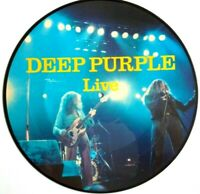 EX/EX! DEEP PURPLE LIVE VINYL LP PICTURE PIC DISC RAINBOW BLACKMORE