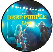 EX/EX! DEEP PURPLE LIVE VINYL LP PICTURE PIC DISC RAINBOW BLACKMORE