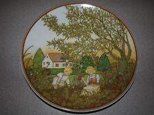 "Villeroy & Boch - Heinrich - Germany - Sommer - Summer - Plate 9 3/4"""