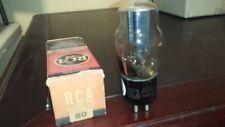 NEW  STRONG  & NOS NIB RCA ST TYPE 80 280 380 tube TV-7 Tested
