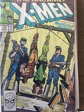Uncanny X-Men 236 Oct 1988 Claremont Silvestri Psylocke Rogue Storm Wolverine