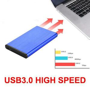 Portable HDD 2TB USB3.0 External Hard Drive Disks 2.5 Inch For PC Laptop Desktop