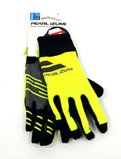 Pearl Izumi Men's Escape Softshell Lite Bike Gloves, Medium, Yellow/Black