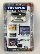 NEW Olympus Trip AF 4000 35mm Camera Point & Shoot Film Quartzdate Cade Included