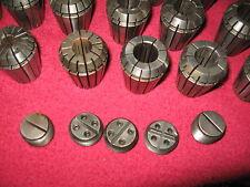 Mill,Grinder ,Arbor 50mm E32,-DA,Collets, 29 Pcs. Nut,Back Up Scw, CNC,Machinist