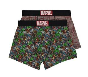 Marvel Comics - Men's 2 pack underwear, Trunks
