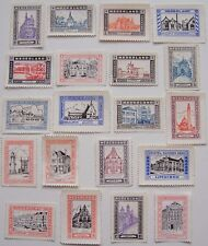 Netherlands - 20 different stamps of Cities and towns in the Netherlands (2)