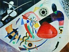 Abstract Art Colorful Red spot Ii Tile Mural Kitchen Wall Backsplash Art 24x18