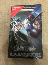Paths of Darkness: The Silent Blade Bk. 1 by R. A. Salvatore. Autographed Copy
