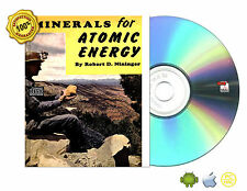 MINERALS FOR ATOMIC ENERGY by Robert D. Nininger (Author) Book On CDROM