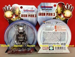 Medicom 2013 Bearbrick Marvel Avengers Iron Man 3 100% War Machine II Be@rbrick