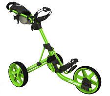 Golftrolley Clicgear 3.5+, 3-Rad, das neueste Modell, Farbe: all-lime  Neu!
