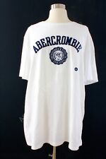 NWT ABERCROMBIE & FITCH MEN'S GRAPHIC TEE T SHIRT XXL WHITE