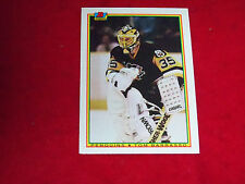 tom barrasso (pittsburgh penguins-goalie) 1990/91 bowman card #209 nr/mint
