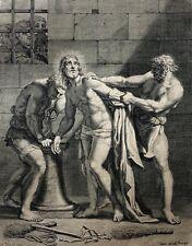 Claudine BOUZONNET-STELLA (1636 - 1697) La Passion d'après Nicolas POUSSIN XIXe