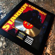The Weeknd STARBOY Million Record Sales Music Award Album Disc LP Vinyl