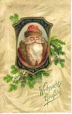 AK Nikolo Nikolaus Prägekarte Weihnachten