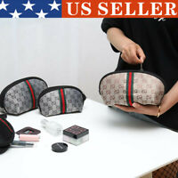 Womens Waterproof Cosmetic Bag Travel Toiletry Makeup Bags Small Organiser Pouch