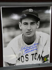 """Ted Williams inscribed and autographed Photograph 16"""" X 20"""" COA"""