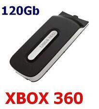 HARD DISK DRIVE MEMORIA DA 120GB PER XBOX 360 FAT ESTERNO MEMORY CONSOLLE