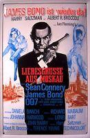 James Bond Liebesgrüsse aus Moskau Blechschild 3D geprägt Tin Sign 20 x 30 cm