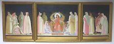 Originale künstlerische Malereien direkt vom Künstler-Holz im Historismus-Stil