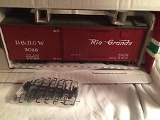 LGB 43673 Rio Grande D & R G W Red Box Car New in Box!