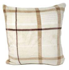 Crema de relleno marrón beis Polar Check 43.2cm - 43 cm Cojín