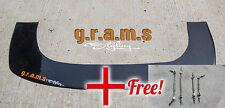Universal Gloss 176 x 62cm Front Bumper Splitter / Lip + RODS INCLUDED V6