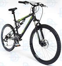 "Muddyfox 26"" Livewire Full Suspension Mountain Bike in Black with 21 Speed"